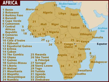 Africa: Can you find Sierra Leone?