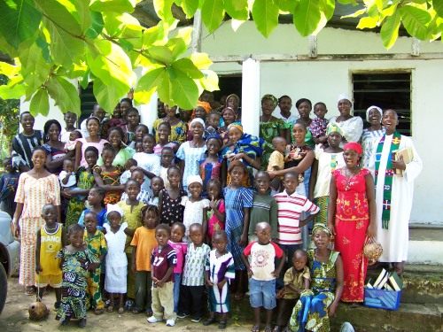 Members of Lord of White Sand Lutheran Church