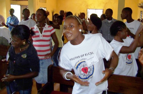Youthful worship and praise:  powered by the Spirit
